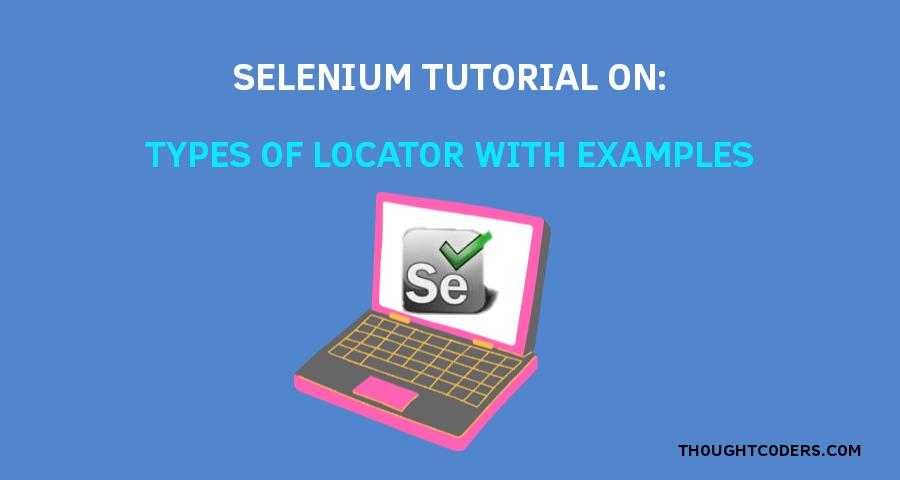 Selenium locator