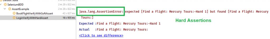 Hard Assertion Console Error