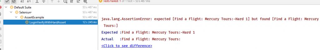 Console Error Hard assertion