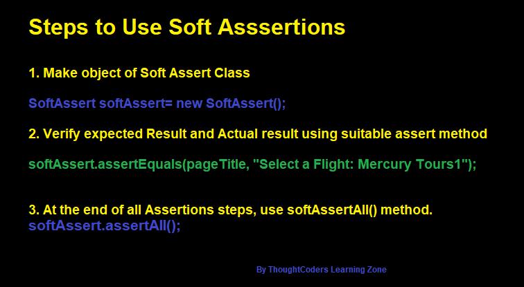 Summary Soft Assertion