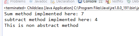 console output abstraction