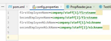 XPath of xml nodes