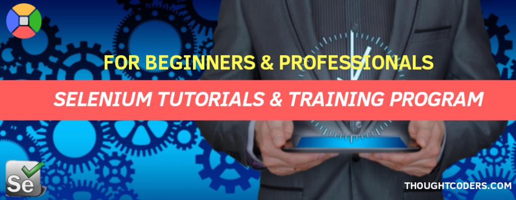 Selenium Tutorials & Training Program